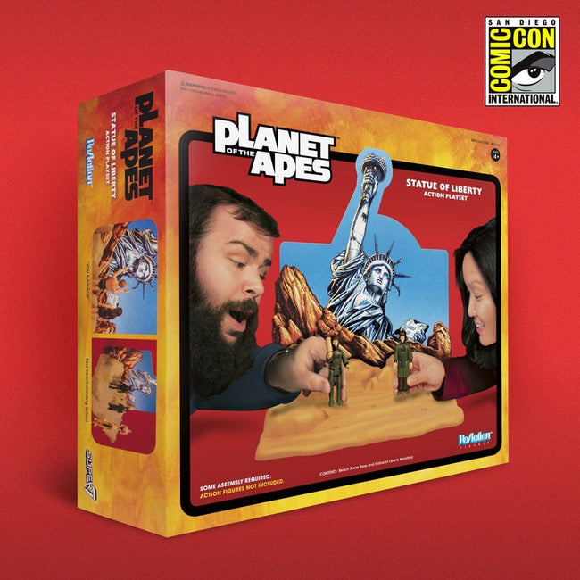Planet of the Apes ReAction Playset Statue of Liberty SDCC 2018