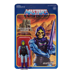 Masters of the Universe ReAction Action Figures 10 cm Wave 3 Battle Armor Skeletor