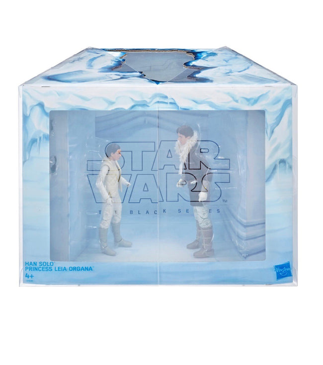 Star Wars The Black Series Han Solo and Princesss Leia Organa Exclusive Figures