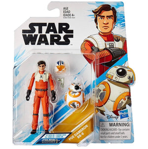 Star Wars Resistance 3.75 Double Pack Poe Dameron & BB-8