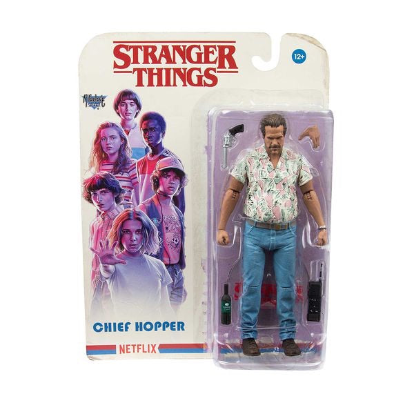 Stranger Things Action Figure Jim Hopper Wave 3