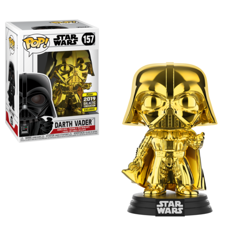 Star Wars Galactic Convention Exclusive Gold Darth Vader