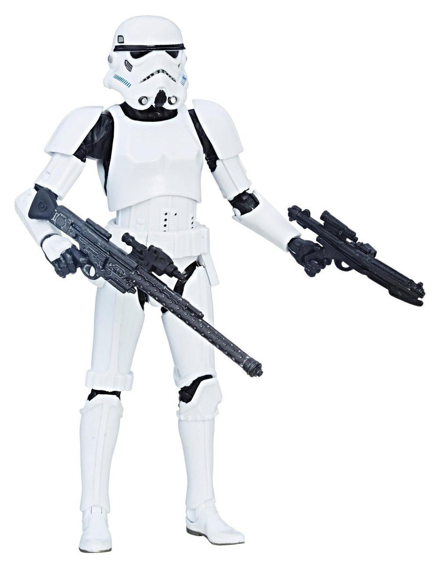 Star Wars 40th Anniversary Black Series 6 Inch Action Figure Storm Trooper *DAMAGED PACKAGING*