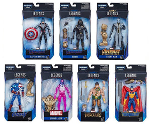 Avengers Endgame Marvel Legends 6 Inch Action Figures Wave 1 Set of 7