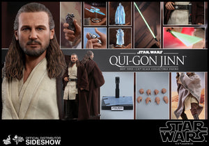Star Wars Episode 1 The Phantom Menace Qui-Gon Jinn 1/6 Scale Collectible Figure
