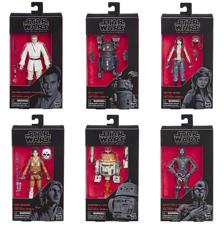 Star Wars The Black Series Wave 21 Set of 6