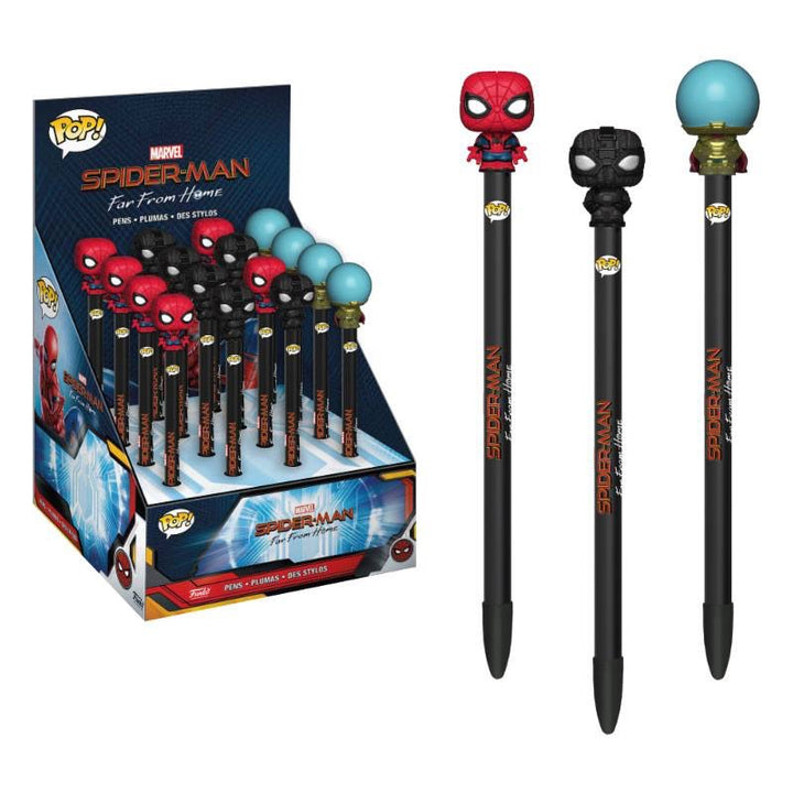 Spider-Man: Far From Home POP! Homewares Pens with Toppers