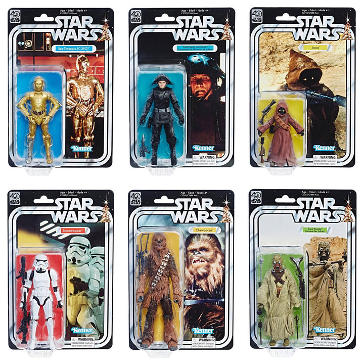 Star Wars: The Black Series 40th Anniversary Set of 6