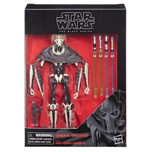 Star Wars The Black Series Deluxe Series Action Figure General Grievous