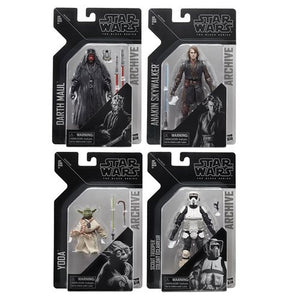 Star Wars The Black Series Archive Action Figures Wave 2 Set of 4