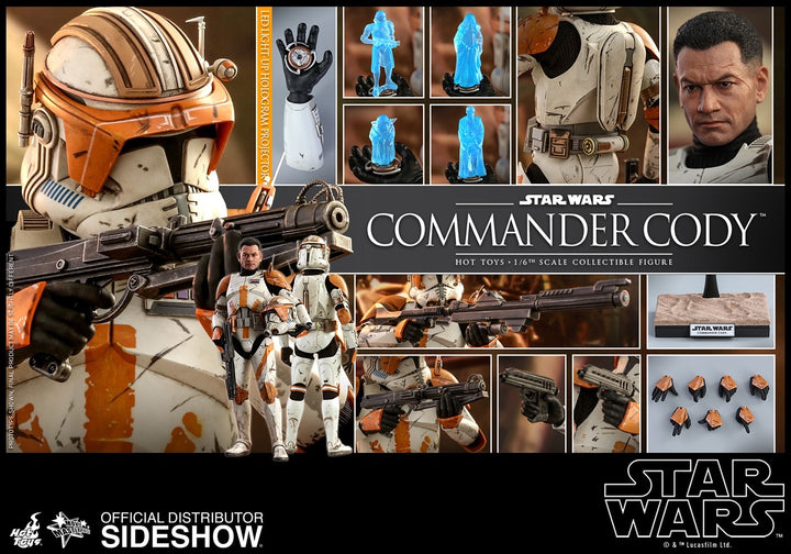 Star Wars Commander Cody 1/6 Scale Collectible Figure