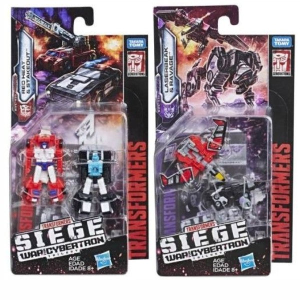 Transformers Generations Siege Micromasters Wave 2 Set of 2