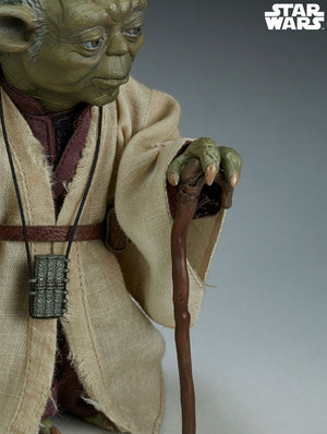 SIDESHOW COLLECTABLES STAR WARS THE EMPIRE STRIKES BACK YODA