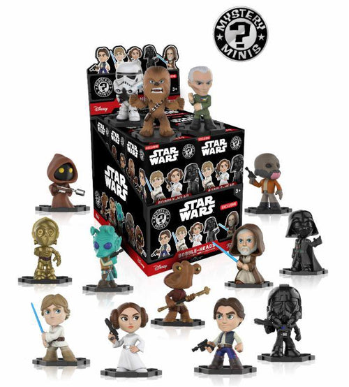 Star Wars: Funko Mystery Minis Figures