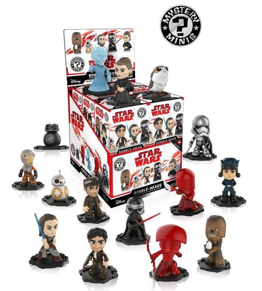 Star Wars: The Last Jedi Funko Mystery Minis Figures Exclusive
