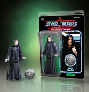 Star Wars Jumbo Kenner Action Figure Emperor Palpatine