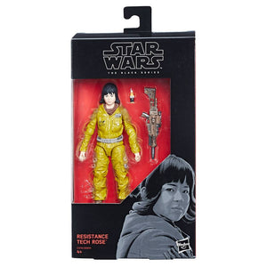 Star Wars Black Series 6inch Action Figure Resistance Tech Rose