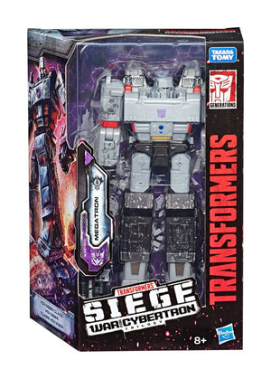 Transformers Generations War for Cybertron Siege Action Figures Voyager Megatron Wave 1