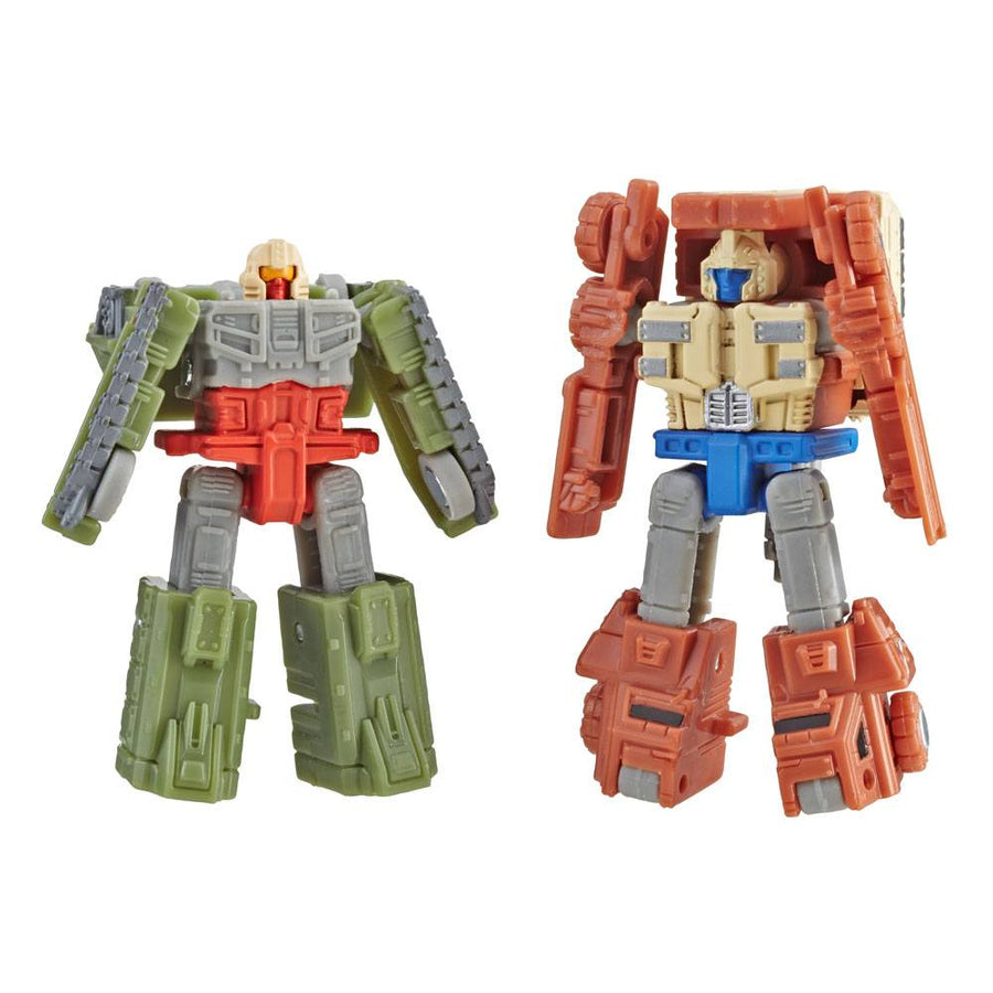 Transformers Generations War for Cybertron Siege Action Figures Micromasters Autobot Battle Patrol (Topshot & Flak) Wave 1