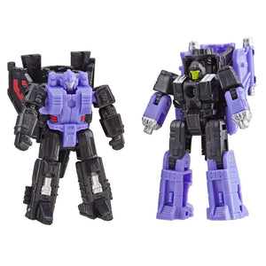 Transformers Generations War for Cybertron Siege Action Figures Micromasters Decepticon Air Strike Patrol (Storm Cloud & Visper) Wave 1