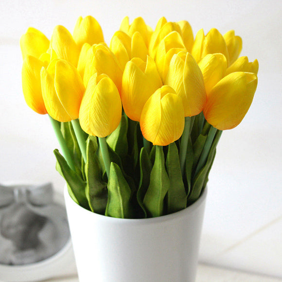 20 Pc  Artificial Tulips