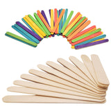 50 Pc Wooden Popsicle Sticks