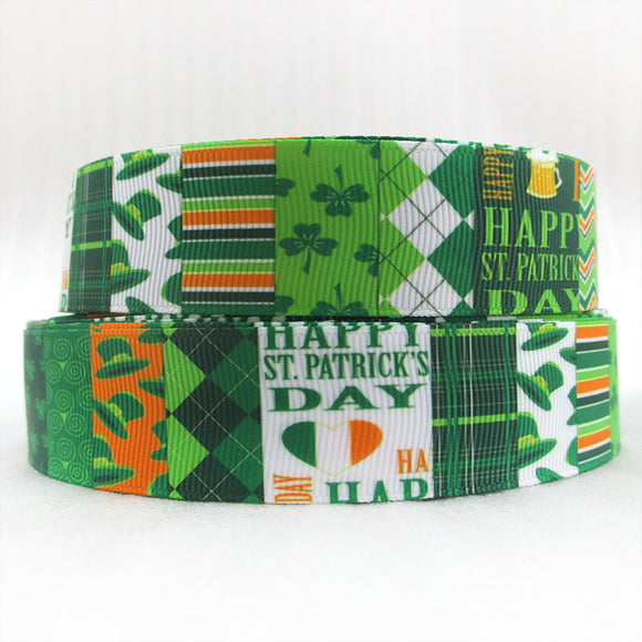 5 Yd St Patricks Day Polyester Ribbon