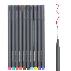 10 Pc Fineliner Color Pens