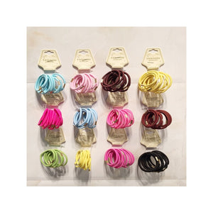 50Pc Elastic Ponytail Holders