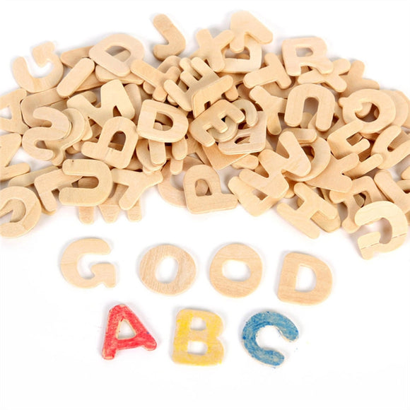 Set of Wooden Letters