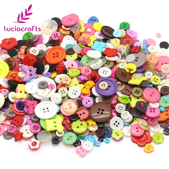 50g Multi Round Buttons 2/4Holes