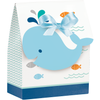 Blue Baby Whale Favor Bags - 12 Pack - cavepop