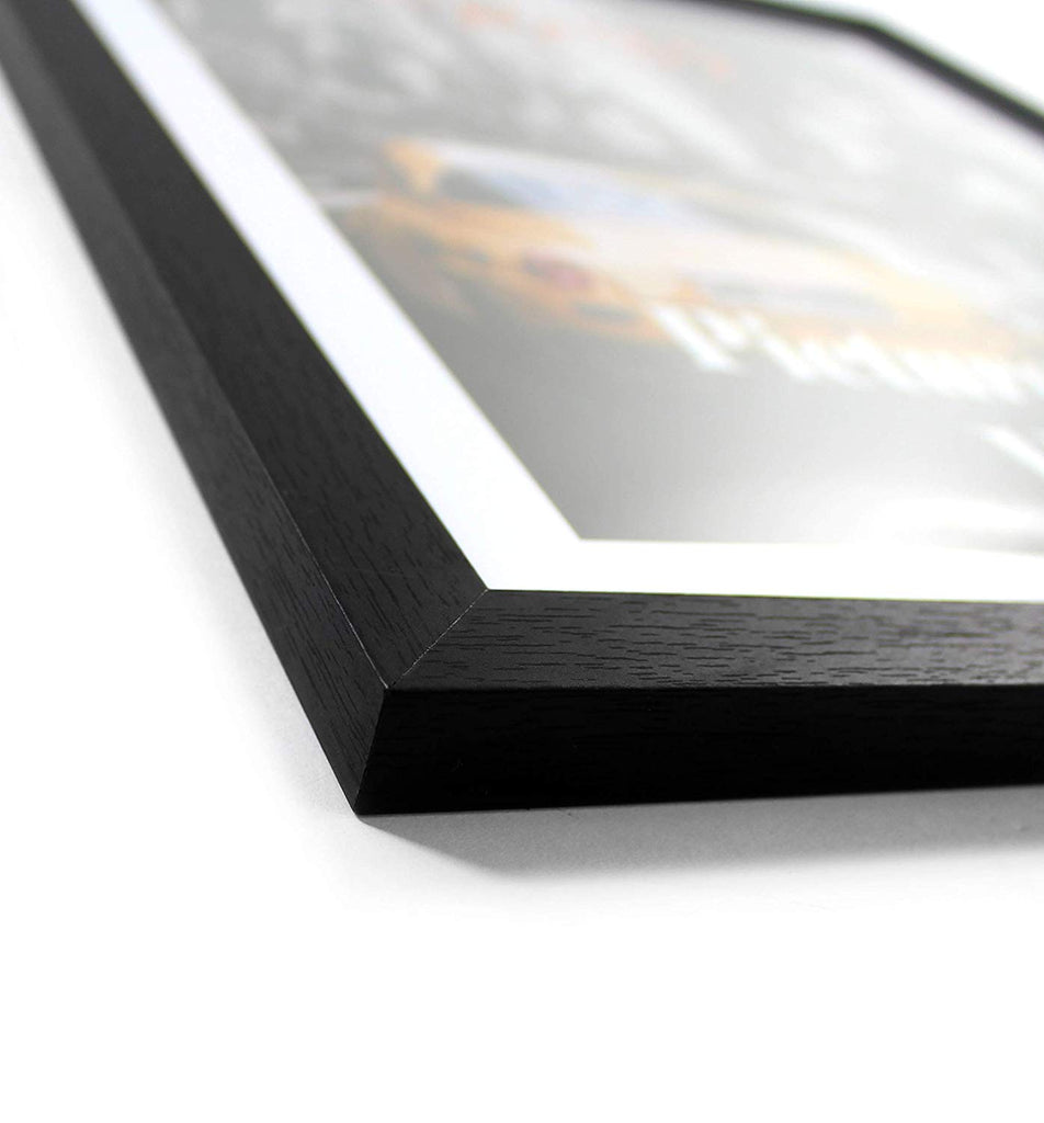 "Cavepop 11x14"" Black Wood Picture Frame Set of 5 - cavepop"