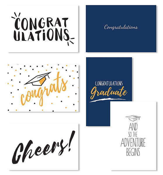 Cavepop Graduation Cards - 36 Pack Assortment - cavepop