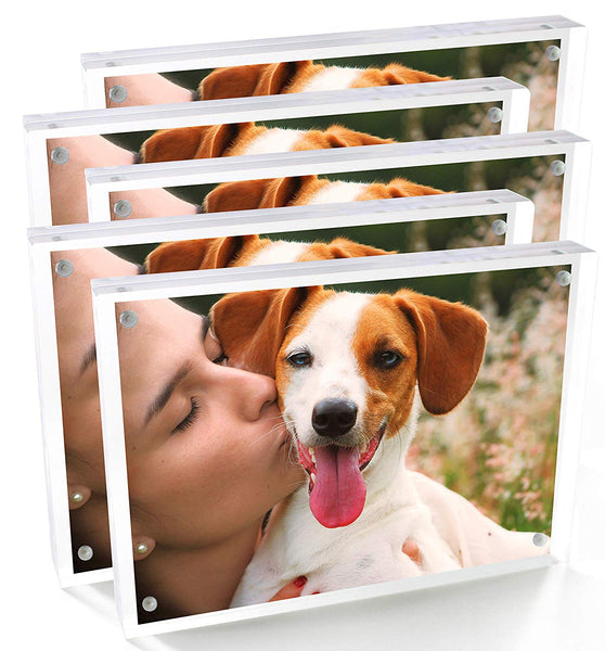 "Cavepop 5x7"" Acrylic Picture Frame Set of 5 - cavepop"
