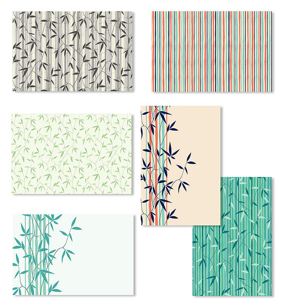 Cavepop Bamboo Greeting Cards - 36 Pack Assortment - cavepop