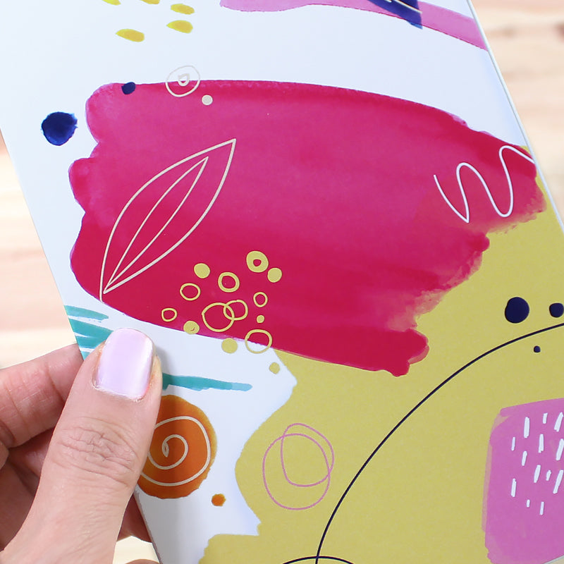 Cavepop Abstract Greeting Cards - 6 Pack Assortment - cavepop