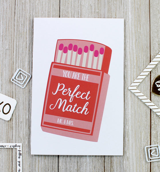"Cavepop ""Perfect Match"" Greeting Card - cavepop"
