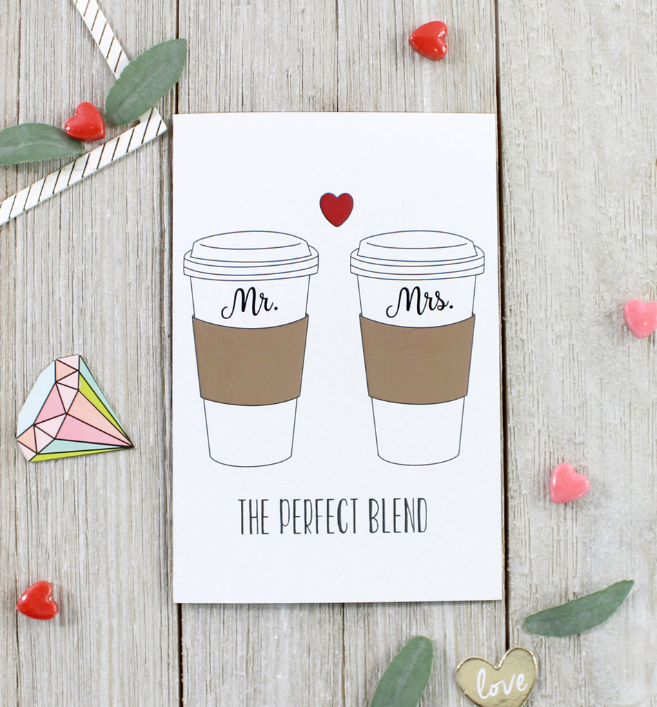 "Cavepop ""Perfect Blend"" Greeting Card - cavepop"