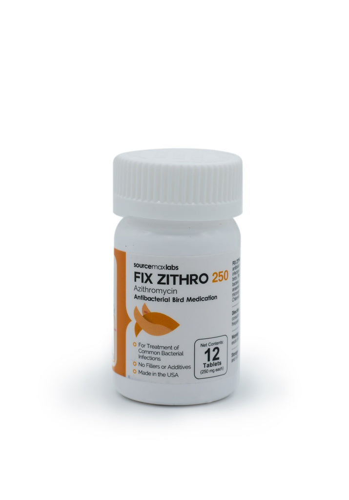 Fix Bird Zithro (Azithromycin) 250mg - 12 Count - FishPharm.com