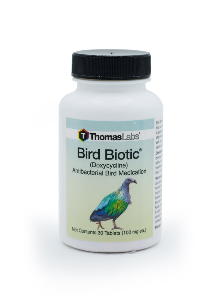 Bird-Biotic (Doxycycline Hyclate) 100mg - 30 Count - FishPharm.com