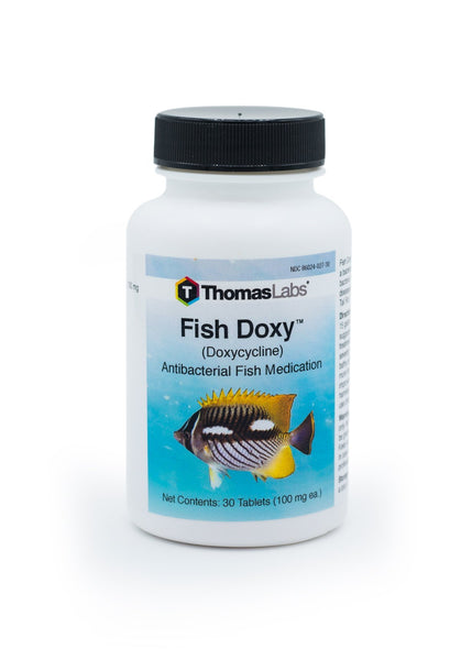 Fish Doxy (Doxycycline Hyclate) 100mg - 30 Count - FishPharm.com