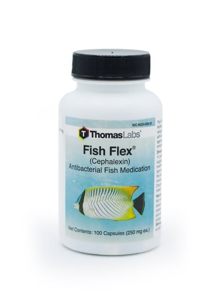 Fish Flex (Cephalexin) 250mg - 100 Count - FishPharm.com