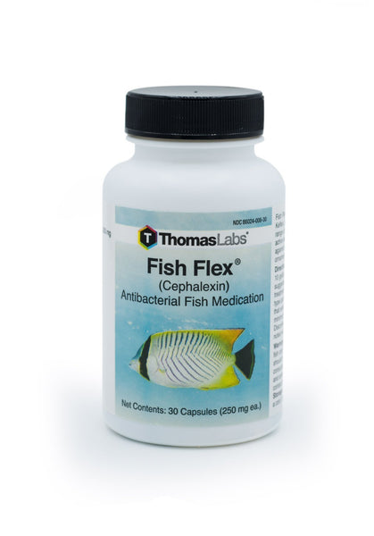 Fish Flex (Cephalexin) 250mg - 30 Count - FishPharm.com
