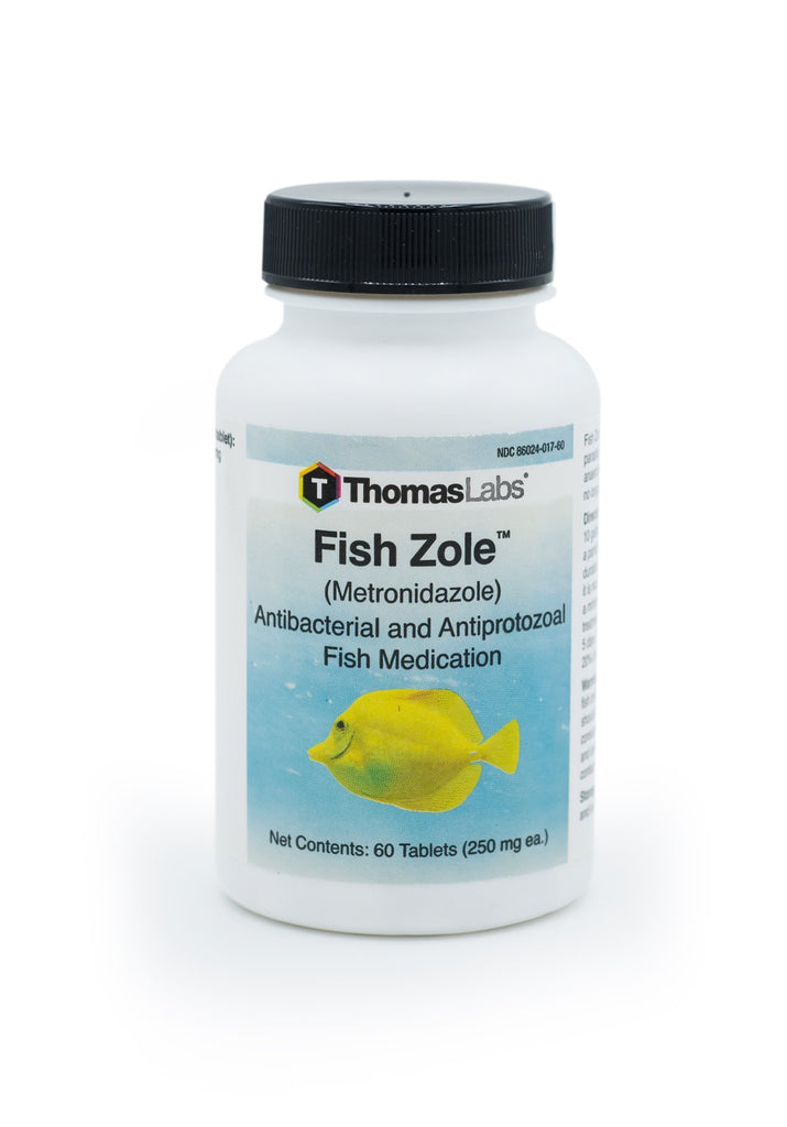 Fish Zole (Metronidazole) 250mg - 60 Count - FishPharm.com