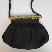 Jewel frame 1940s evening bag