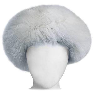 White fox hat 1960s