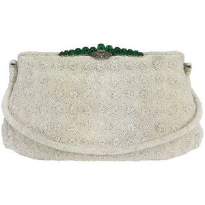 Marguerite Fresse Paris jewel frame beaded evening bag