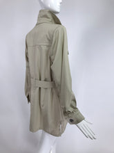 Vintage Yves Saint Laurent Rive Gauche Safari Tunic 1980s