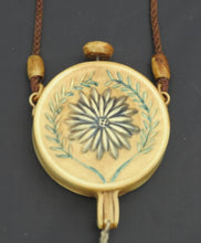 1920s Floral Celluloid Tasseled Dance Purse Nécessaire